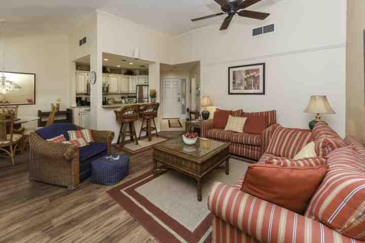 Open Floor Plan - Perfect for relaxation! - Completely Remodeled, Wonderful 1 BR Villa - 1 Minute walk to the Pool / Beach - No Hurricane Damage - Hilton Head - rentals