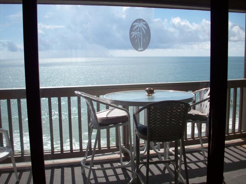 Gorgeous ocean view from the den. - Oceanfront, Garden City Beach, Minutes from MB - Garden City - rentals