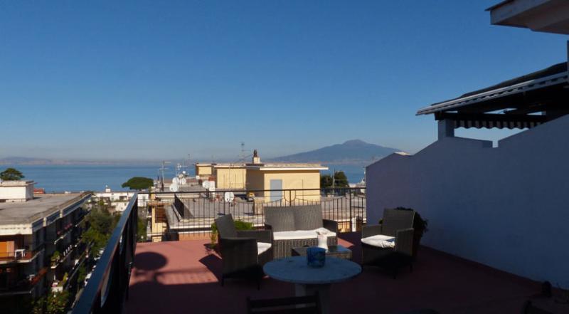 01 Casa Nizza terrace - CASA NIZZA Sorrento - Sorrento area - Sorrento - rentals