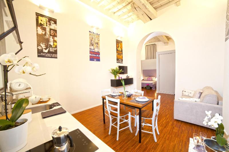 Cinema Loft Overview - NOSTROMONDO- ARGENTINA -Opera and Cinema Lofts - Rome - rentals