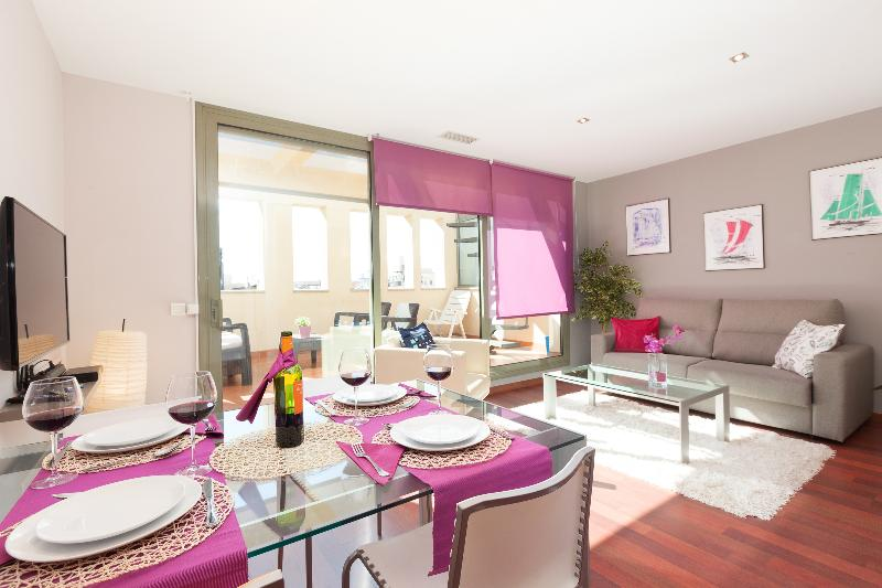 LetsGoBarcelona Paseo de Gracia + Terrace A - Image 1 - Barcelona - rentals