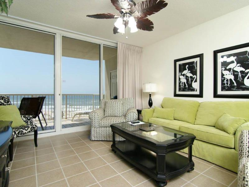 Gorgeous Ocean View From The Living Room - Beautiful Beach Front Condo! Check Low Rates! - Gulf Shores - rentals