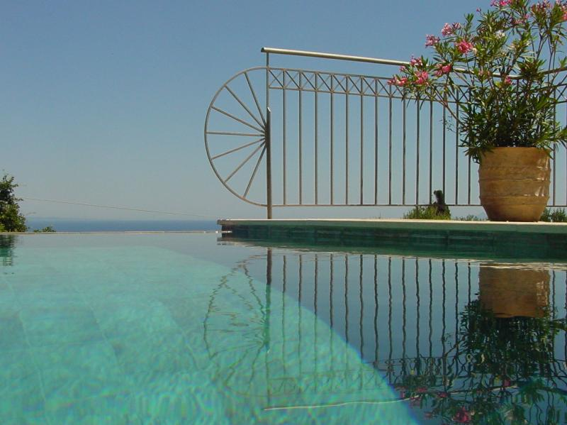 Your private infinity pool with steps and jacuzzi - Romantic Getaway. Private Pool. Stunning Sea Views - Skala - rentals