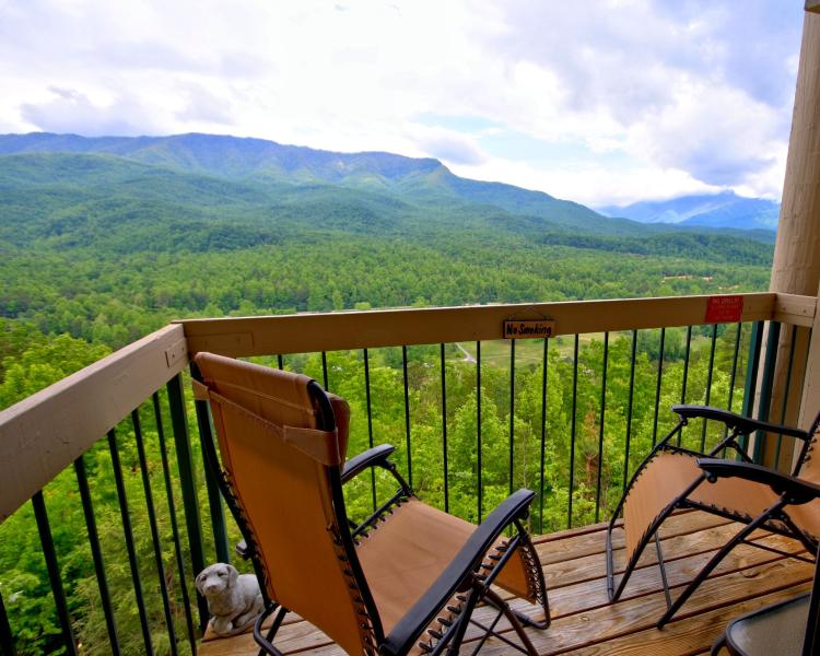 View from your Balcony - Above Par Condo - Luxury - Views - Value - Gatlinburg - rentals
