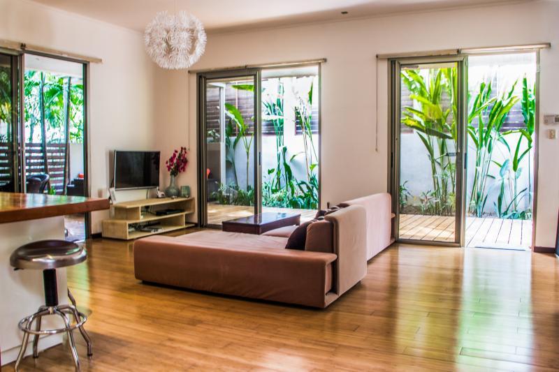 Modern LOFT style villa step from the best beach - Image 1 - Santa Teresa - rentals