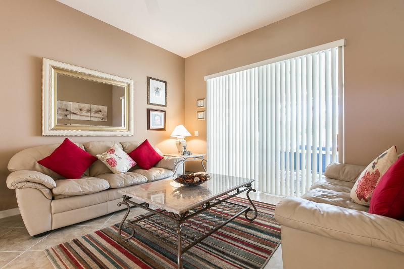 Living Room - Signature Florida Villa - Davenport - rentals