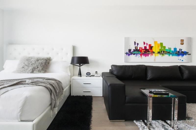 Nice City Views in Modern Studio Apartment - Jersey City - Image 1 - Jersey City - rentals
