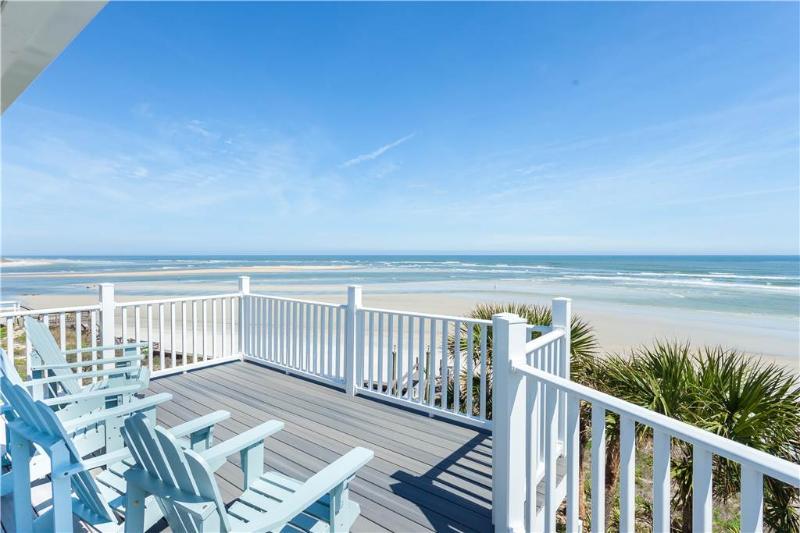Welcome Home, 4 Bedrooms, Ocean Front, Elevator, Sleeps 12 - Image 1 - Saint Augustine - rentals