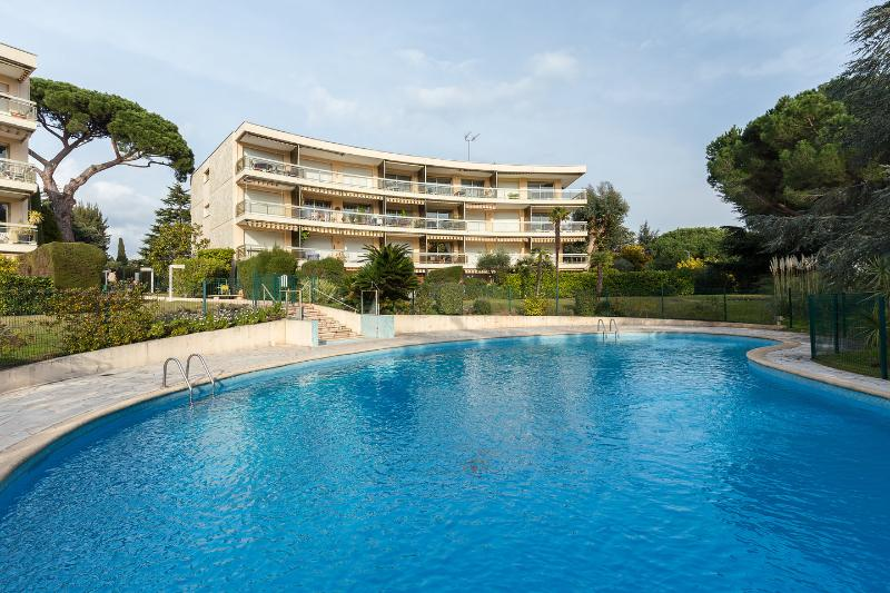 The communal swimming  pool - Luxury ground floor 2 bedroom apartment with pool - Cannes - rentals