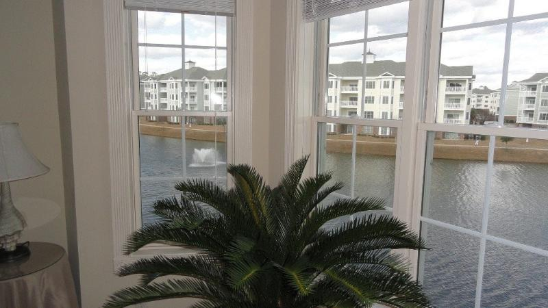 Bay window view from master bedroom - Beach Life is Our Life! - Myrtle Beach - rentals