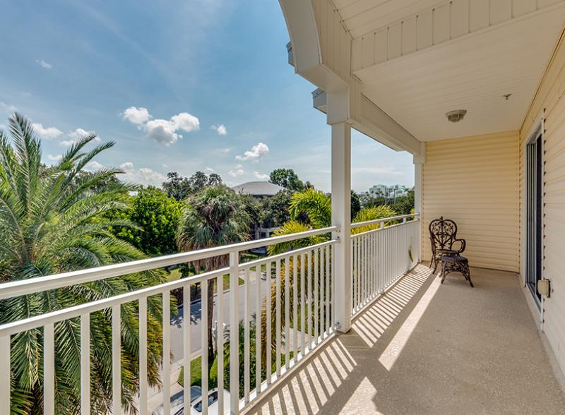Bedroom 2 balcony - The Laughing Turtle - Indian Rocks Beach - rentals