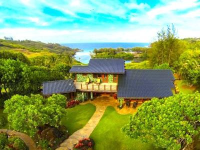 Lovely 4 Bedroom Villa in Kilauea - Image 1 - Princeville - rentals