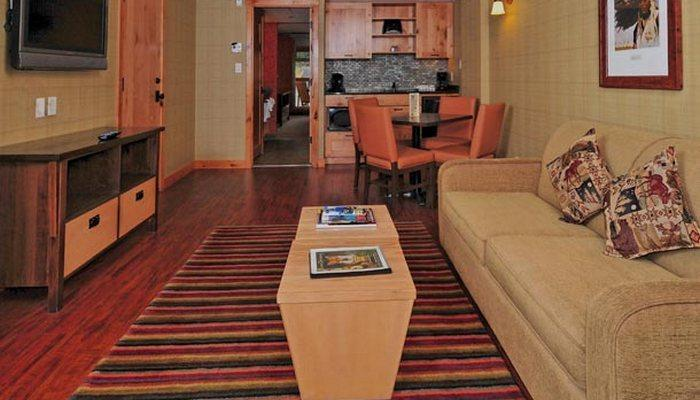 Visit with friends in the roomy living area - Banff Fox Hotel & Suites Superior 2 Bedroom Suite - Banff - rentals