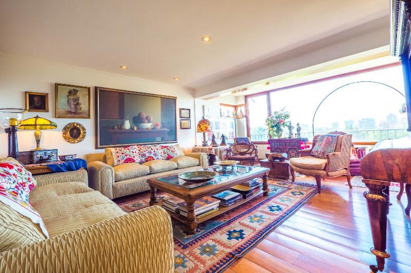 Eclectic 3 Bedroom Apartment in Las Condes - Image 1 - Santiago - rentals