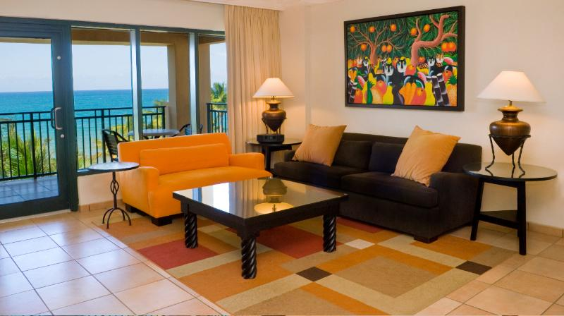 Beachfront Villa at Wyndham Rio Mar Beach Resort - Image 1 - Rio Grande - rentals