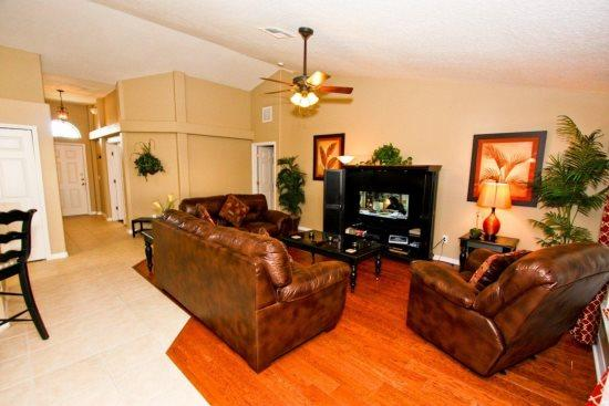 Luxurious 5 Bedroom 3 BathPool Home in The Estates at Legacy Park. 217WC - Image 1 - Kissimmee - rentals