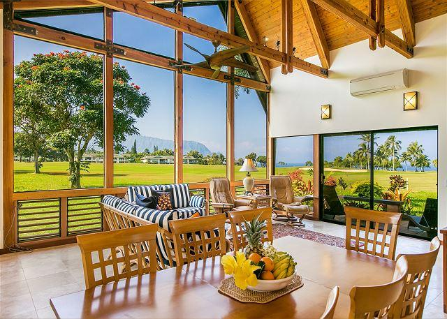 Amazing Views!! Newly remodeled w/ spectacular ocean/golf views - Image 1 - Princeville - rentals