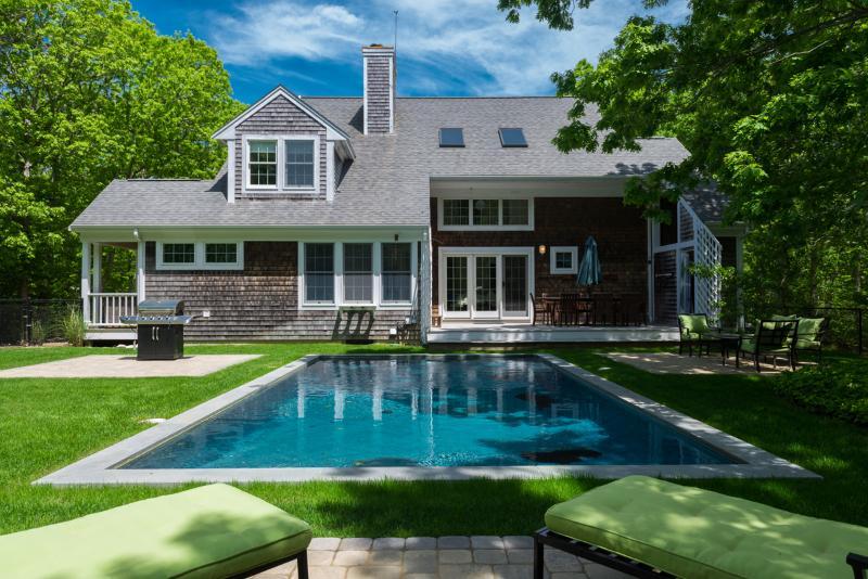 Pool, Yard, Patio, Deck and Dining - KASEE - Sea Haven, Edgartown Village, Heated Pool - Edgartown - rentals
