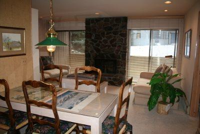 Dinning Room / Living Area - Warm Springs Sawtooth Condo #25 - Ketchum - rentals