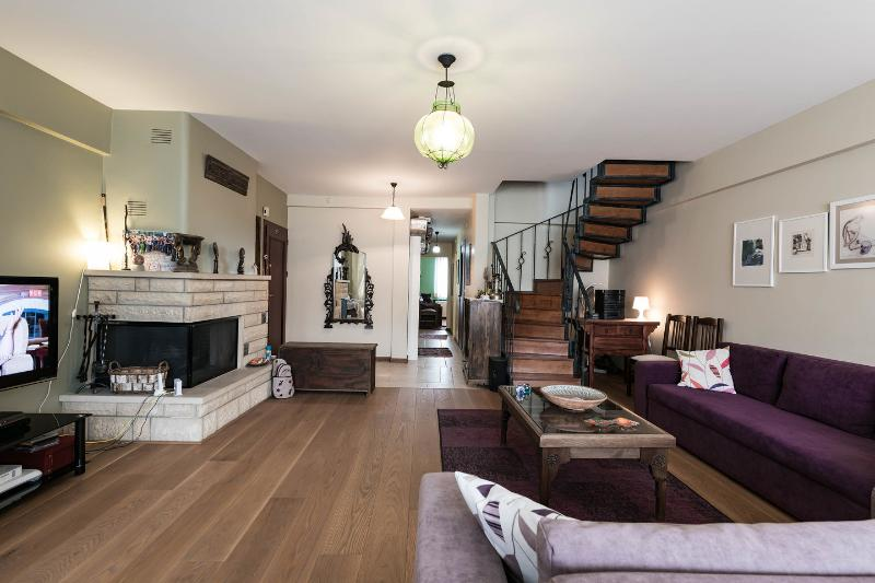 Living Room - Outstanding duplex flat in the shopping area - Istanbul - rentals