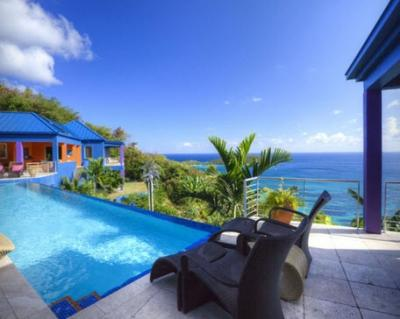 Extraordinary 6 Bedroom Villa in Rendezvous - Image 1 - Cruz Bay - rentals
