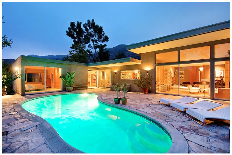 Mid Century Modern Glamour House - Image 1 - Los Angeles - rentals