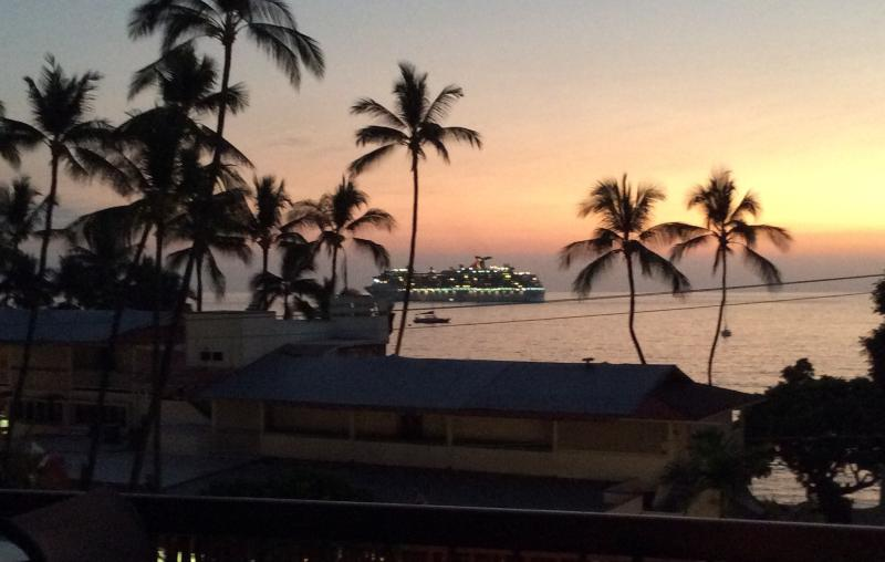 After a long day exploring the Big Island, relax on our private, spacious lanai - Kona's Hidden Gem, Beautiful Oceanview, in town! - Kailua-Kona - rentals