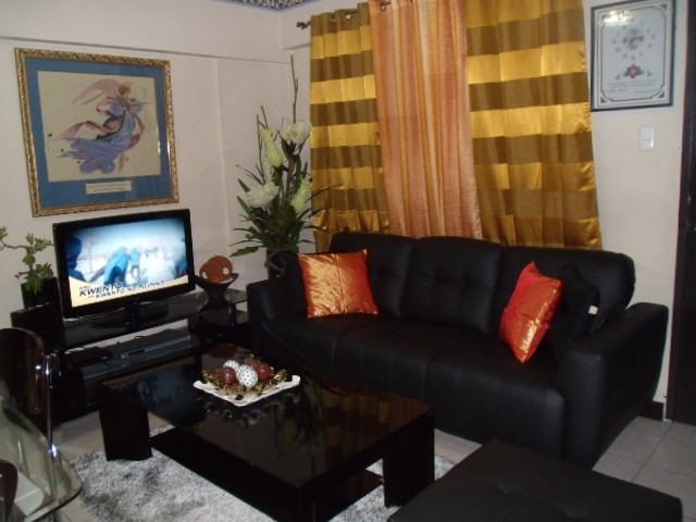 Venezia 408 Living Room - VACATION RESORT CONDO IN ORTIGAS - SECURED 24/7! - Pasig - rentals