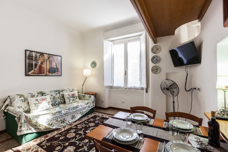 Living Dining Room - La Scalea di Trastevere Guest House - Rome - rentals