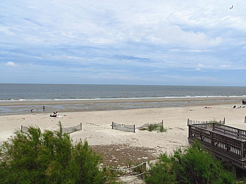 view from balcony - 108C Tybee Lights - prices listed may not be accurate - Tybee Island - rentals
