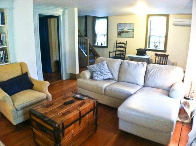 Living room - 9/10's mile to Skaket Beach with Central A/C - OR0540 - Orleans - rentals