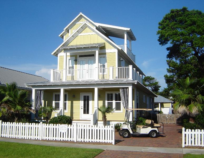 The Crystal Beach House - Your Home Away from Home - Award Winning- 6+ Bdrm/5 Bath, Pool/Spa, Golf Cart - Destin - rentals
