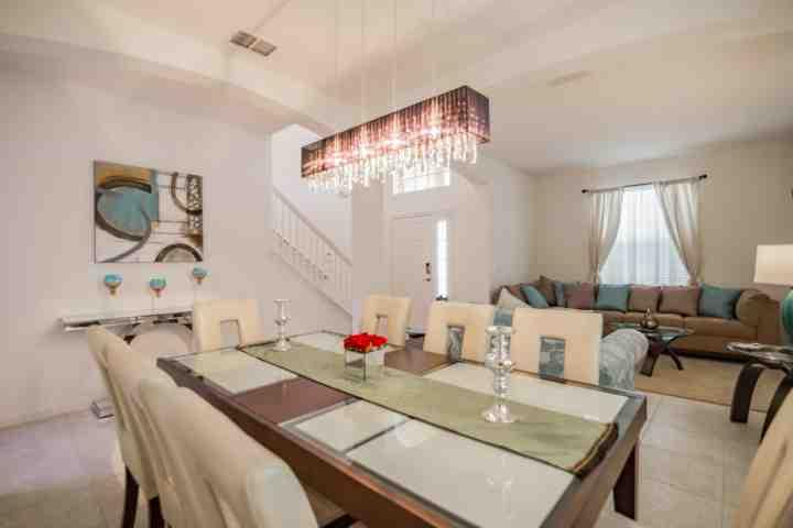 Beautiful Entrance to Home - Formal Dining & Second Sitting Area - 5237 Solterra - Davenport - rentals