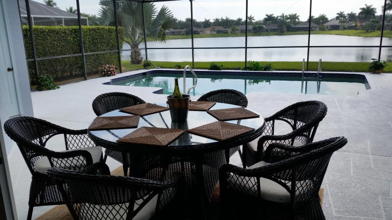 Lake view. - Briarwood Naples Lake View with Saltwater Pool - Naples - rentals