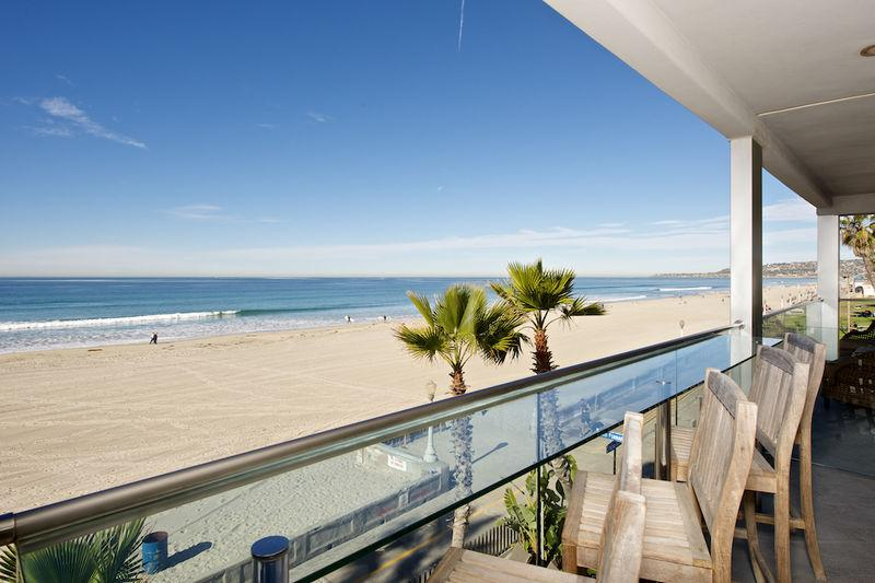 Panoramic Ocean View 3rd Story Deck - SOUTHBEACH5 - Mission Beach - rentals