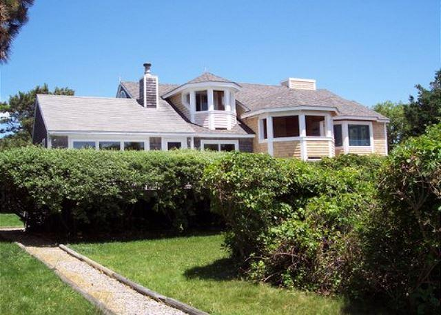 BEAUTIFUL CONTEMPORARY WITH WATERVIEWS OF THE INNER AND OUTER HARBOR - Image 1 - Chappaquiddick - rentals