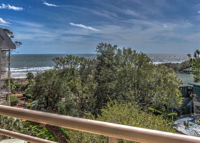 View - 3528 Villamare - Oceanview and Fully Upgraded/Renovated -  5th Floor Villa. - Hilton Head - rentals