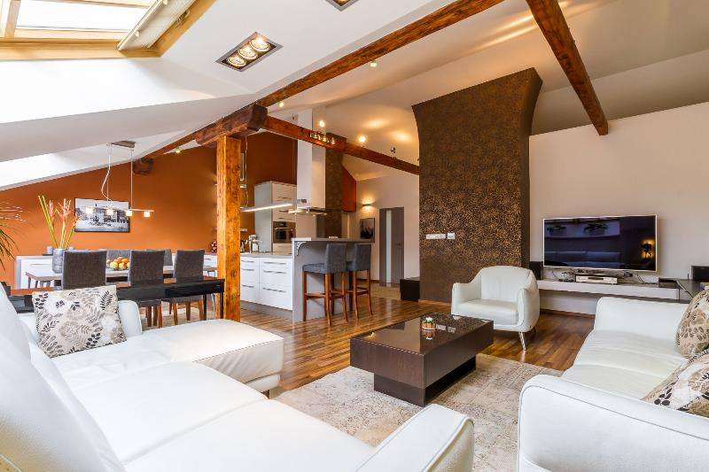 Two connected apartments in the hearth of Prague. More than 200 sq. meters (about 2.200 sq. feets). - Exceptional XXL Luxury Suite 3xBDR 2xSauna Jacuzzi - Prague - rentals