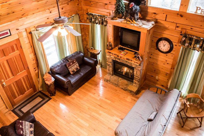 Livingroom - Gods Blessings with amazing view - Gatlinburg - rentals