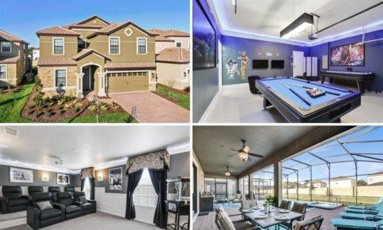 Exquisite 8 Bedroom 5 Bath Pool Home in ChampionsGate Golf Resort. 1497RFD. - Image 1 - Kissimmee - rentals