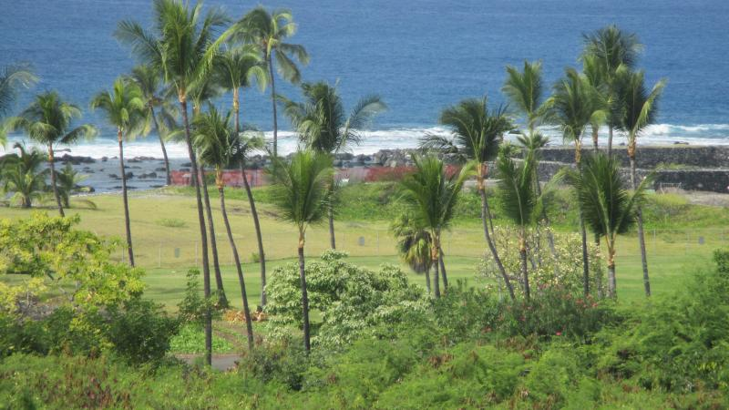 Actual view from your lanai of unit N4. Our home is uniquely located with unobstructed views. - Best Na Hale View, Location and Amenities with Great Pricing! - Kailua-Kona - rentals
