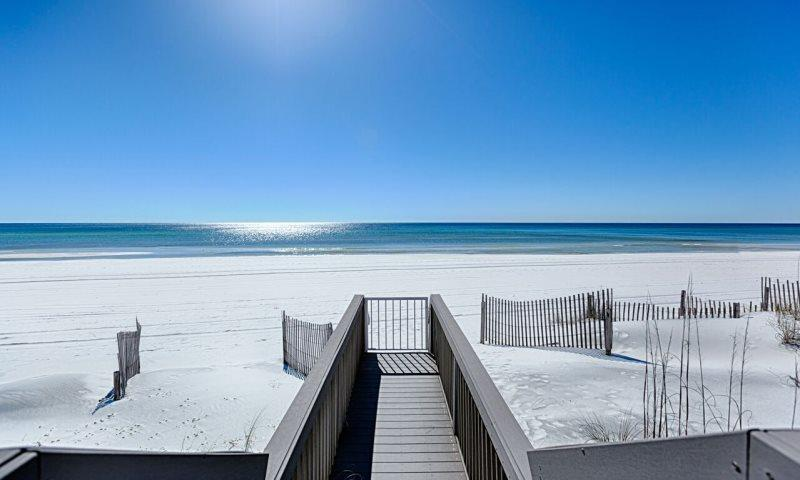 View From Private Boardwalk off Back Deck - The Magnificat! BEACH FRONT LUXURY HOME! - Miramar Beach - rentals
