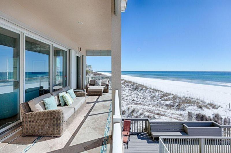 Second Floor Balcony off Living Area - 20% OFF Magnificat 3/4 - 3/11: BEACH FRONT - Miramar Beach - rentals