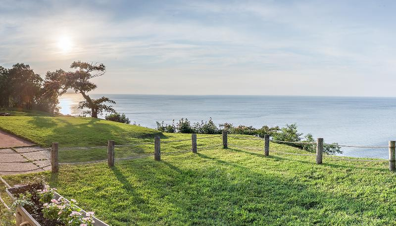 View from Deck - Waterfront Home with Private Beach - Sound Beach - rentals