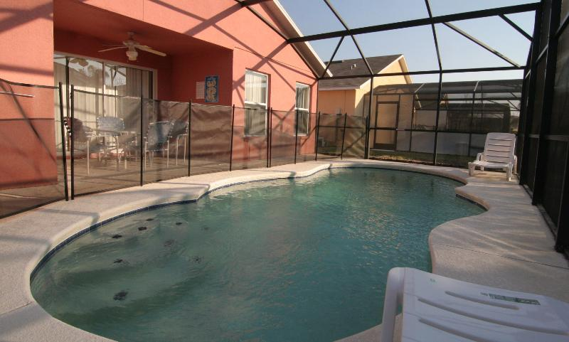Private Swimming Pool - Pink villa at Silver Creek for Disney, Orlando, FL - Four Corners - rentals