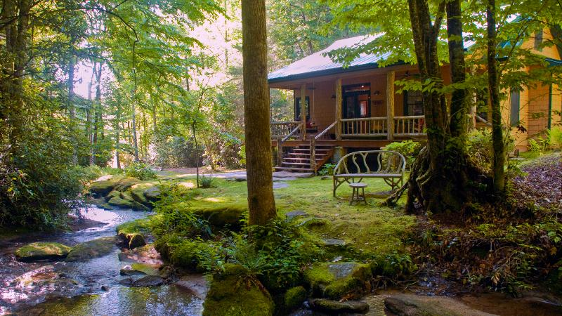 "Nearby L - The secluded, luxury ""WATERFALL CABIN"" - Brevard - rentals"