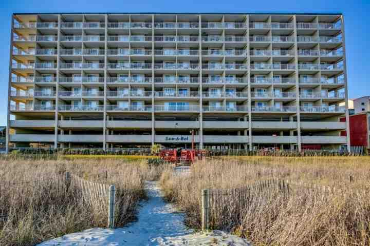 LAST MINUTE DISCOUNT!!Oceanfront UPDATED Sanabel 2BR 2BA Penthouse 708 Sleeps 4 CRESCENT BEACH - Image 1 - North Myrtle Beach - rentals