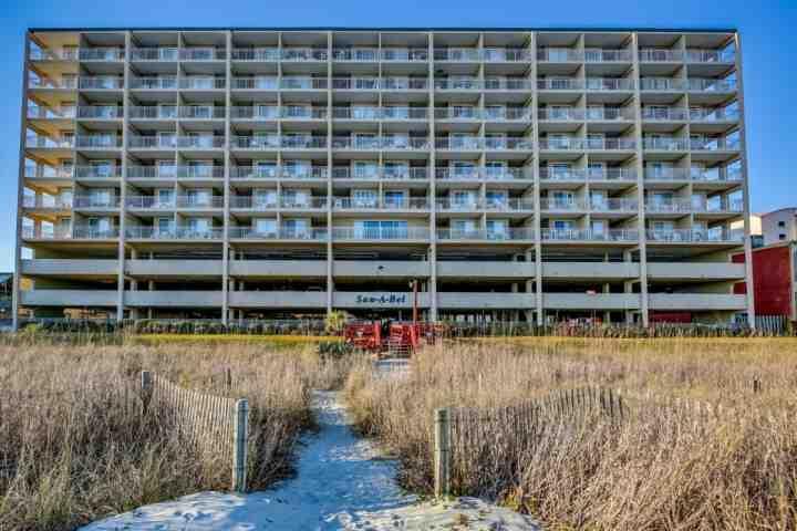 LAST MINUTE DISCOUNT!!Oceanfront UPDATED Sanabel 2BR 2BA Penthouse 708 Sleeps 4 - Image 1 - North Myrtle Beach - rentals