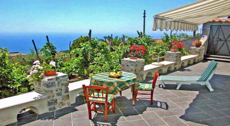 01 Casa Orfeo private terrace - CASA ORFEO - Scala - Amalfi Coast - Scala - rentals