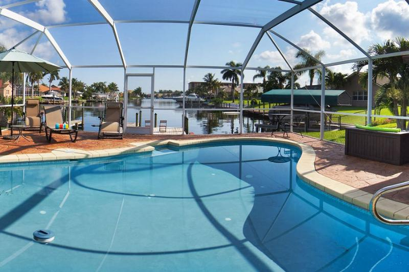 Manatees at the Dock! Amazing Views! - Image 1 - Cape Coral - rentals